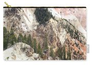 Sit For A Spell At Grand Canyon In Yellowstone Carry-all Pouch
