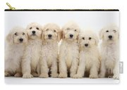 Six Labradoodle Pups Carry-all Pouch