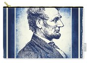 Sixteenth President Blue Carry-all Pouch