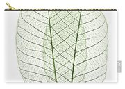 Skeleton Leaves Carry-all Pouch by Elena Elisseeva