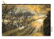 Skeletons At Sunset Carry-all Pouch