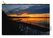 Skeloton Lake Sunset Hdr Carry-all Pouch