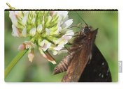 Skipper On Clover Square Carry-all Pouch