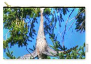 Puget Sound Great Blue Heron Skirt Wings Carry-all Pouch