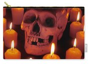 Skull And Candles Carry-all Pouch