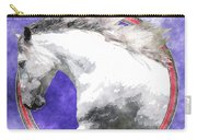 Sky Andalusian Carry-all Pouch