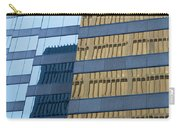 Sky Scraper Tall Building Abstract With Windows And Reflections No.0102 Carry-all Pouch