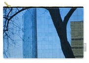 Sky Scraper Tall Building Abstract With Windows Tree And Reflections No.0066 Carry-all Pouch