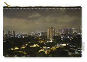 Skyline Of A Part Of Singapore At Night Carry-all Pouch