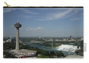 Skylone Tower And Niagara Falls Carry-all Pouch