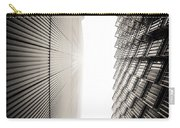 Slatted Window Architecture Carry-all Pouch