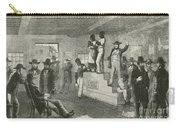 Slave Auction, 1861 Carry-all Pouch by Photo Researchers