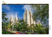 Slc Nw View Carry-all Pouch by La Rae  Roberts