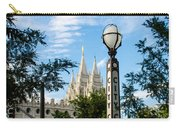 Slc Temple City Creek Carry-all Pouch by La Rae  Roberts
