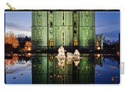 Slc Temple Nativity Carry-all Pouch