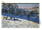 Sledging Near Youlgreave Carry-all Pouch by Andrew Macara