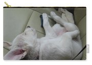 Sleeping In The Front Seat Carry-all Pouch