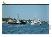 Sleepy Boats At Chatham - Cape Cod  Ma Carry-all Pouch
