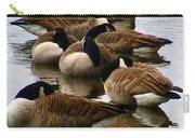 Sleepy Geese Carry-all Pouch