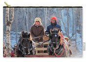 Sleigh Ride In The Frontenac Axis Carry-all Pouch