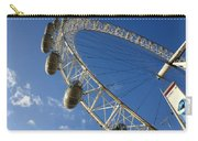 Slice Of The Wheel Of London Eye From An Angle Carry-all Pouch