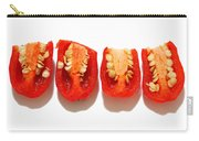 Sliced Red Peppers Carry-all Pouch