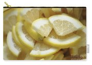 Slices Of Lemon Carry-all Pouch