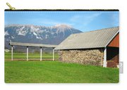 Slovenian Hayrack And Woodpile Carry-all Pouch