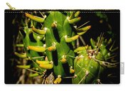 Small Green Cactus Carry-all Pouch