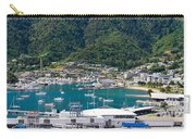 Small Idyllic Yacht Harbor  Carry-all Pouch