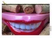 Smile Among Wine Corks Carry-all Pouch