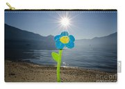 Smile Flower On The Beach Carry-all Pouch