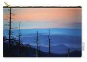 Smokey Mountain Sunset As Seen From Clingman's Dome Carry-all Pouch