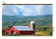 Smokie Mountain Barn Carry-all Pouch by Betty LaRue