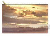 Smoky Sunset Over Boulder Colorado  Carry-all Pouch
