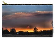 Smoky Sunset Wide Angle 08 27 12 Carry-all Pouch