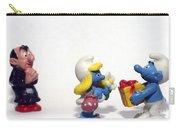 Smurf Figurines Carry-all Pouch by Amir Paz
