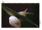 Snail Carry-all Pouch by Stelios Kleanthous