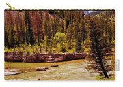 Snake River And Kayaker Carry-all Pouch