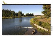 Snake River At Schwabacher Landing  Carry-all Pouch
