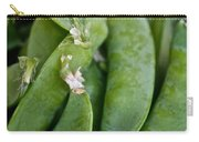 Snap Peas Please Carry-all Pouch by Susan Herber