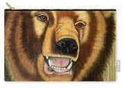 Snarling Grizzly Carry-all Pouch