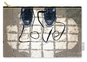Sneaker Love 1 Carry-all Pouch by Paul Ward