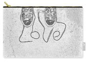 Sneaker Love 2 Carry-all Pouch by Paul Ward