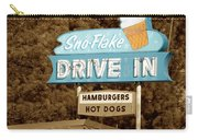 Sno-flake Drive In Lake Tahoe Carry-all Pouch