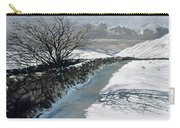 Snow Above Barbondale - Barbon Carry-all Pouch