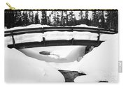 Snow Bridge In Canadian Rockies Carry-all Pouch