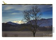 Snow-capped Monte Rosa Carry-all Pouch