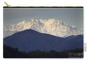Snow-capped Mountain Monte Rosa Carry-all Pouch
