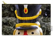 Snow Coverd Toy Soldier Carry-all Pouch